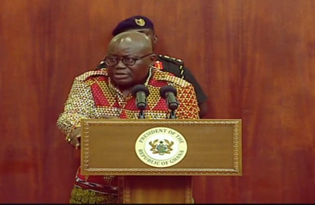 President of Ghana Akufo Addo on contract killings