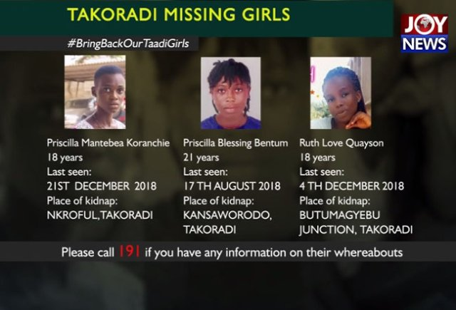 missing takoradi girls