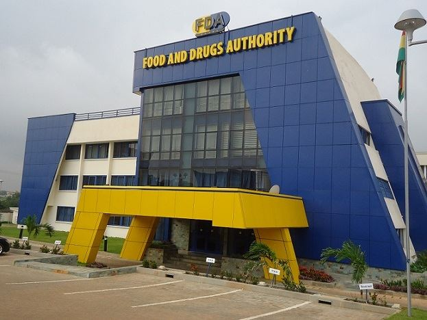 fda building in Accra