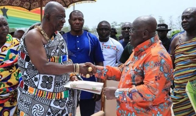 Prez and chiefs ahafo region