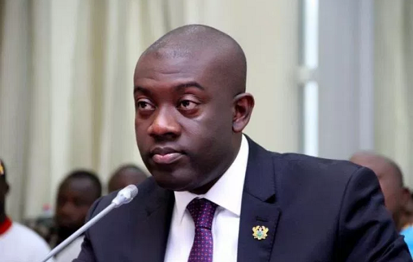 Ghana's Information minister