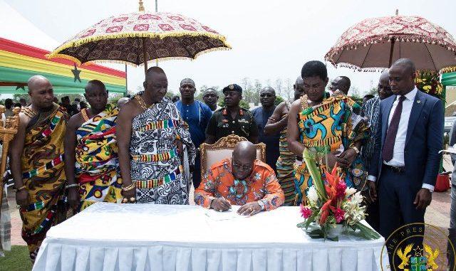 Akufo Addo techiman Bono East capital