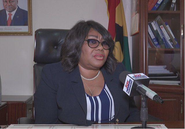 Registrar General Jemina Oware
