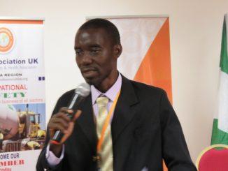 Administrator for Ghana Region, OSHAsocia --UK , Mr. Richmond Jonas Quartey