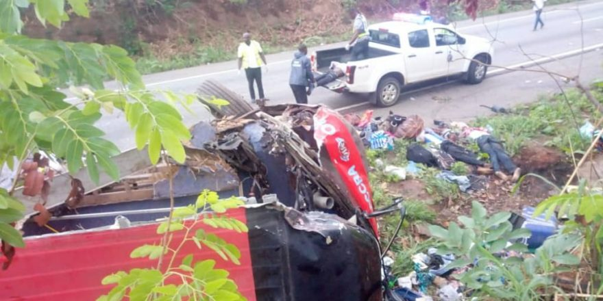 55 perish in kintampo accident