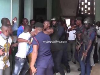 mob action in court