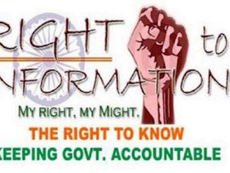 parliament pass RTI law