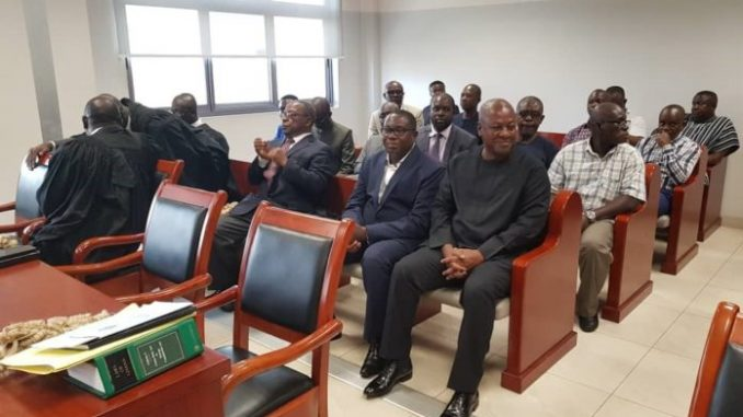 JM in court to support NDC Chairman