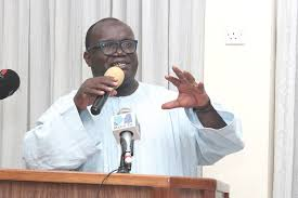 Ken Ashigbey on senior minister
