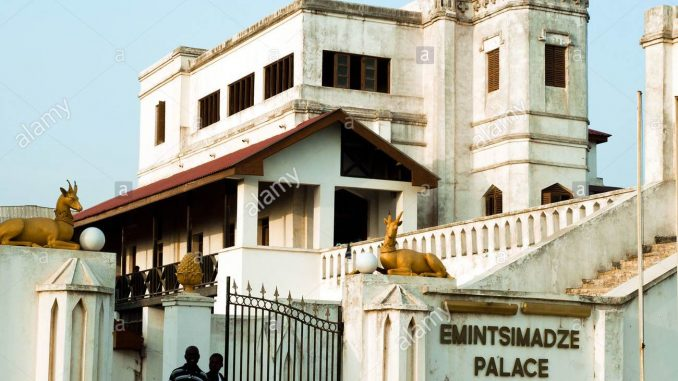 Emintsimadze Palace in Cape Coast.