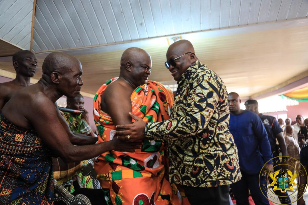 Nana Addo visits Western North
