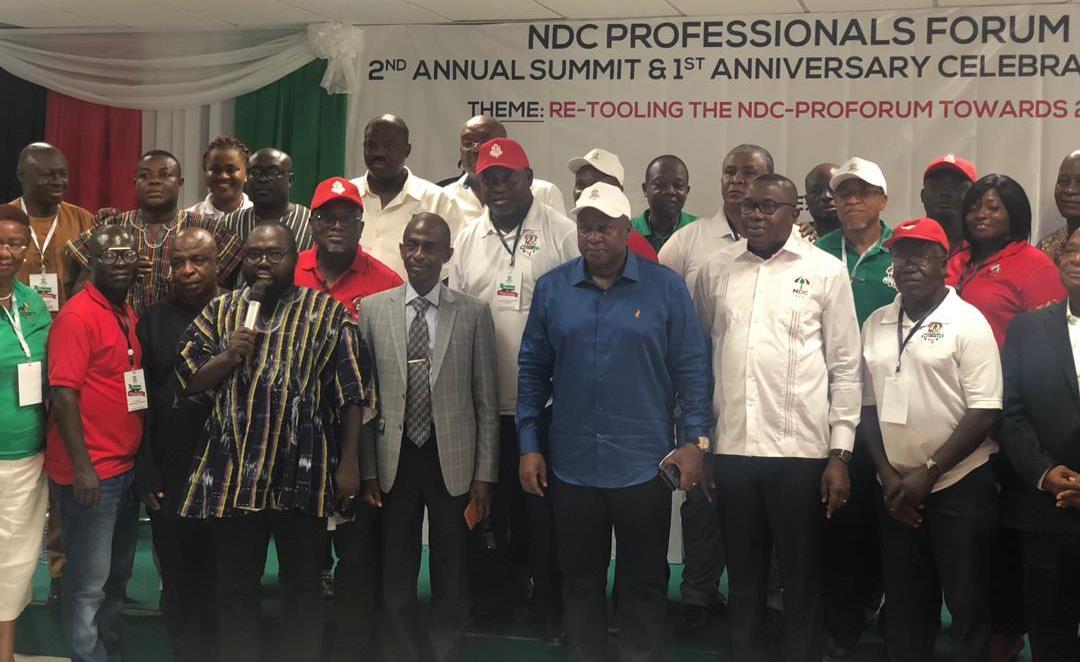 John Mahama at NDC Proforum summit