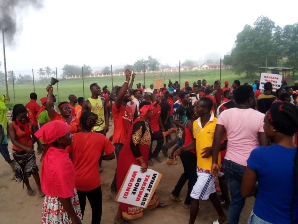 Tarkwa-Nsuaem demo