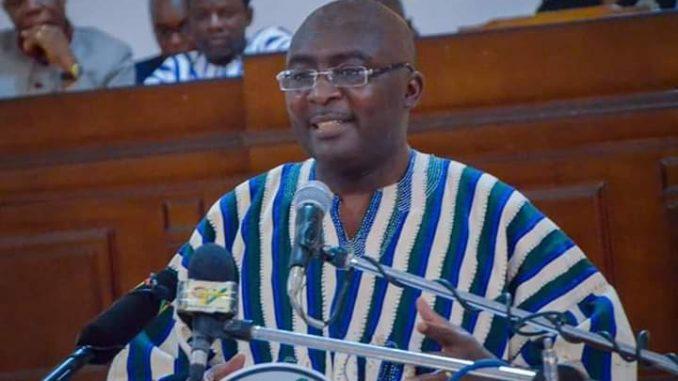 Vice President Dr. Mahamudu Bawumia
