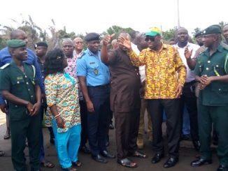 Kwabena Okyere Darko-Mensah tours Jomoro