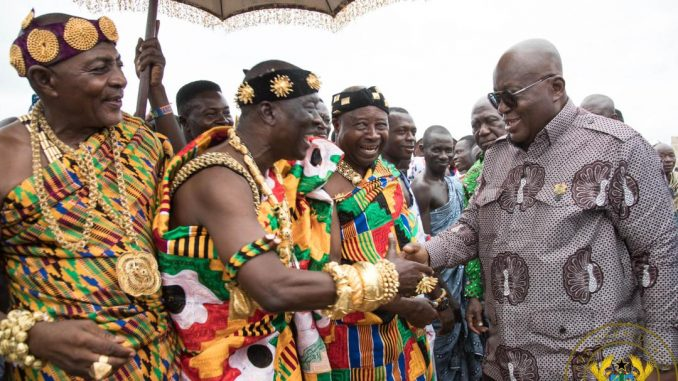 Nana Addo at Krachi tour
