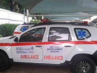 Rebecca Foundation donates ambulances