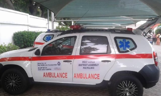 Rebecca Foundation donates ambulances