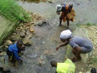 Ankobra basin contaminated