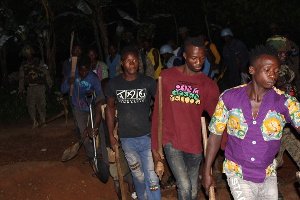 83 Illegal miners arrested in dawn operation