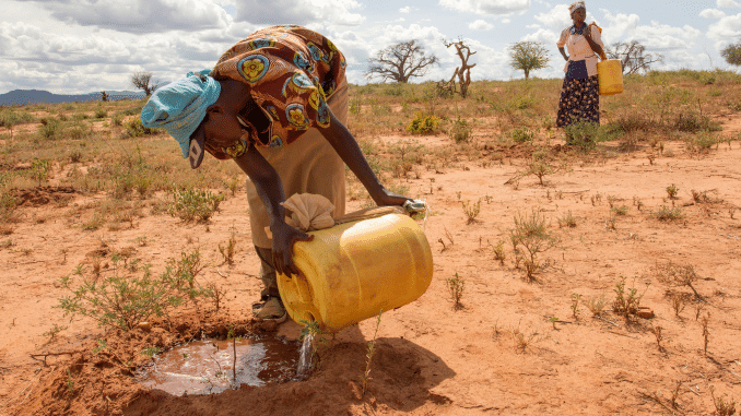 climate change affects women