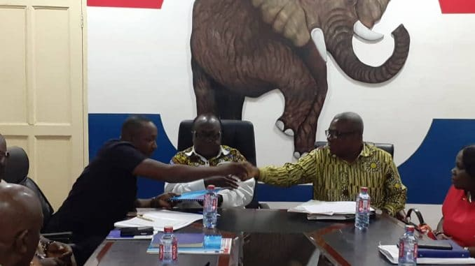 npp parliamentary appeal committee