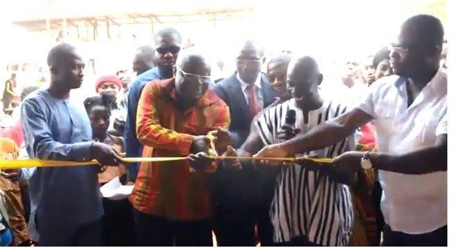 Dr Kweku Afriyie builds schools